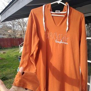 Columbia texas longhorn/hoodie